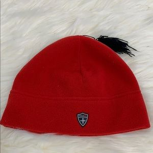 Polo by Ralph Lauren red fleece hat